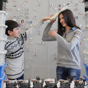 The Brother – Sister Robot Duo