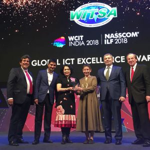 TUMO Wins Chariman's Prize at WCIT 2018