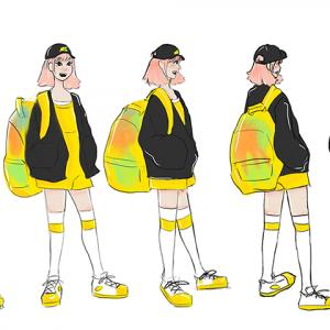 Personnage de face, de profil, de dos et de trois quart – Lab dessin niveau I